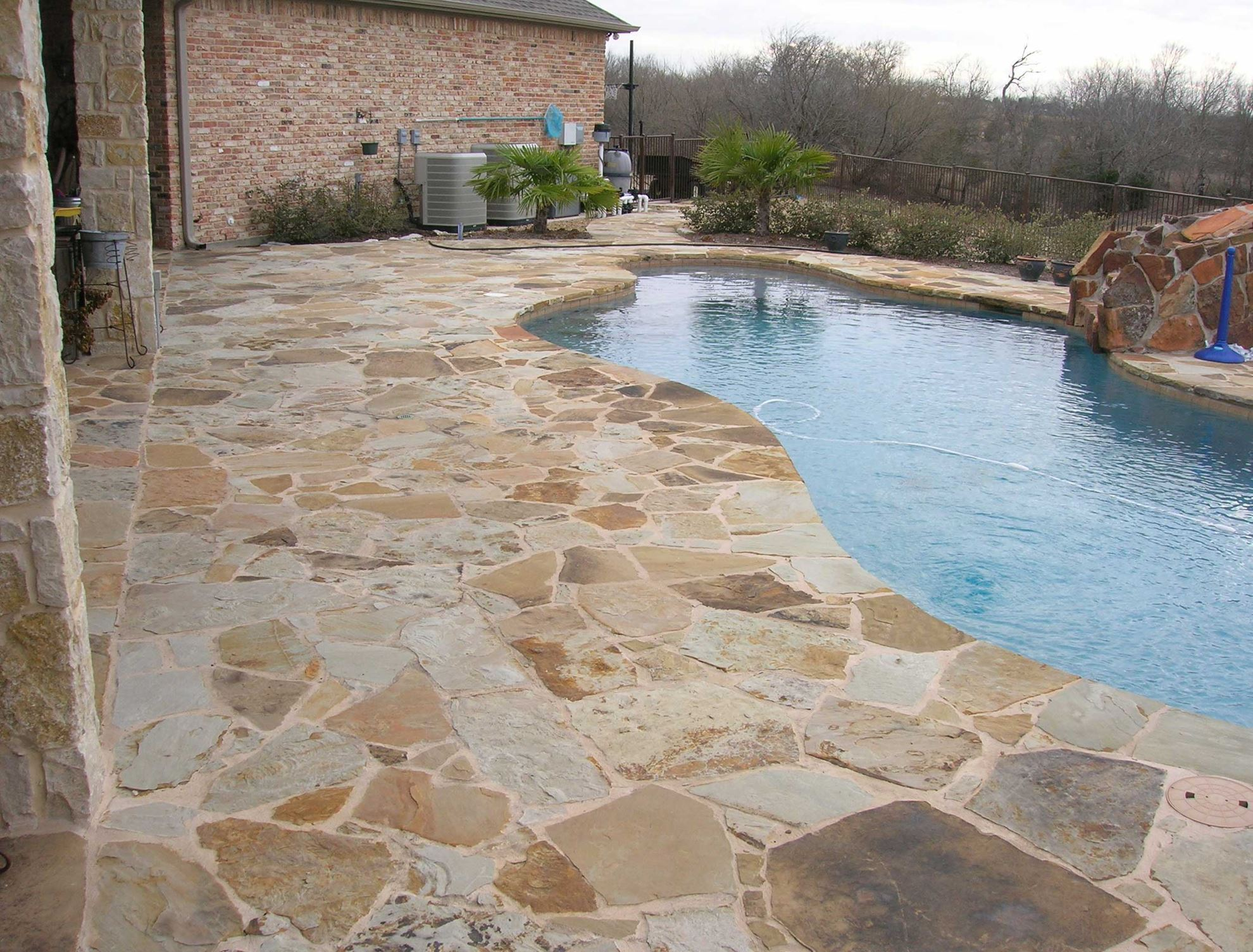 Fort Worth Grass Amp Stone Oklahoma Flagstone