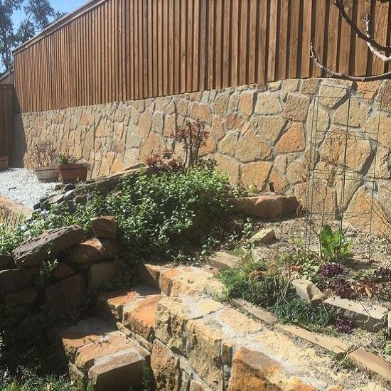 Milsap Chopped Stone - Retaining Wall