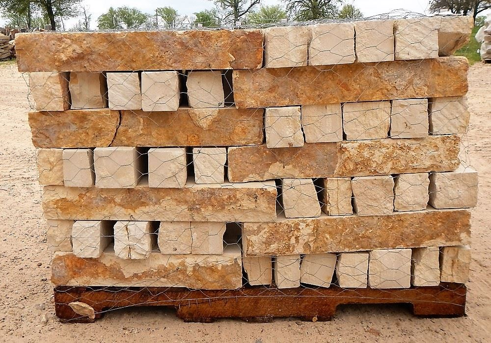 How Much Is A Ton Of Gravel >> Fort Worth Grass & Stone - Milsap Sawcut Stone